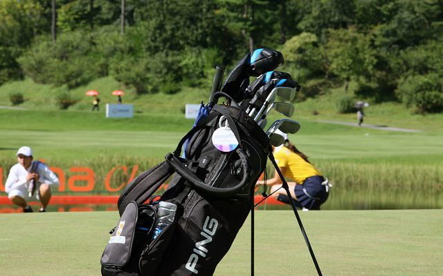Zestaw do gry w golfa dla dzieci